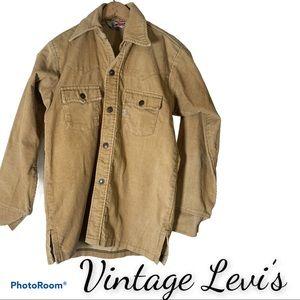 Vintage Levi's M corduroy jacket shirt shacket